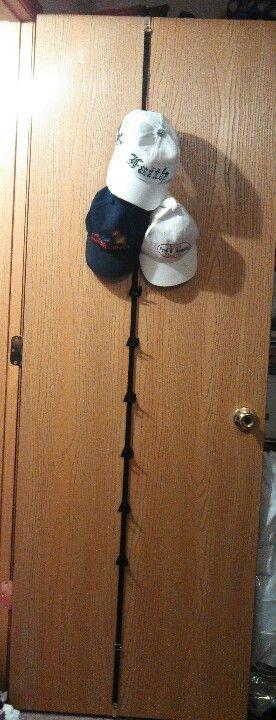 Hat Rack Walmart Hat Holder Sold At Walmart For $3 On Back Of Closet Door