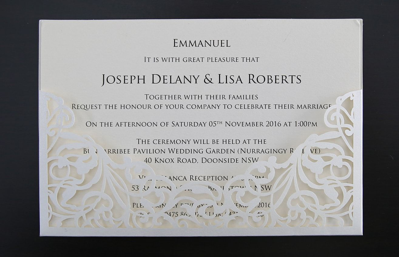 Gold wedding anniversary invitations. Custom designed and online ...