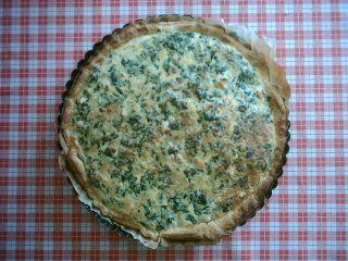 Las recetas del montañés errante: Quiche de espinacas y feta