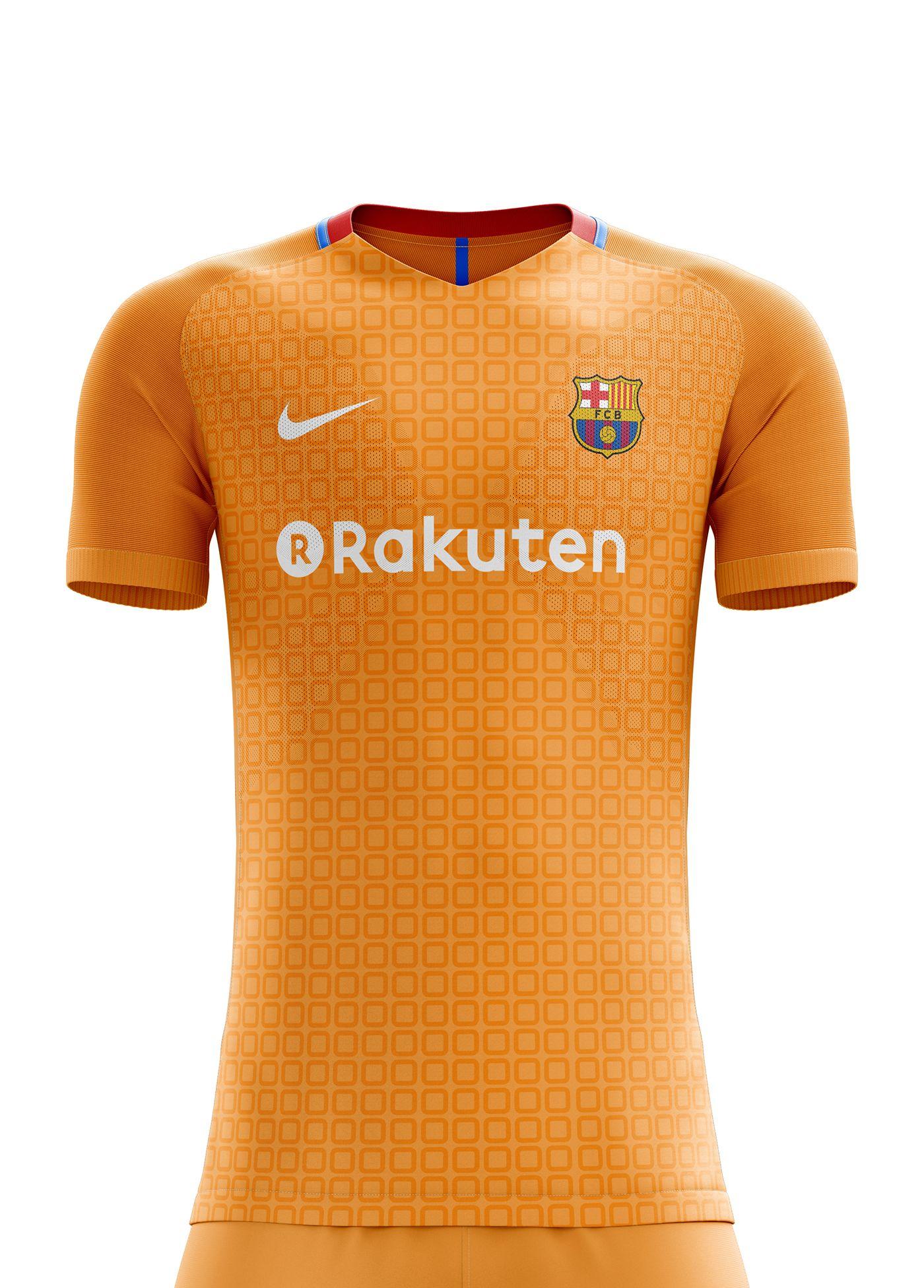 c3669dfc I designed football kits for FC Barcelona for the upcoming season 18/19. I