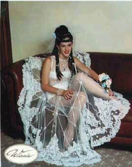 Pin On The Most Outrageous Inappropriate Ugliest Wedding Gowns That Should Never Have Happened