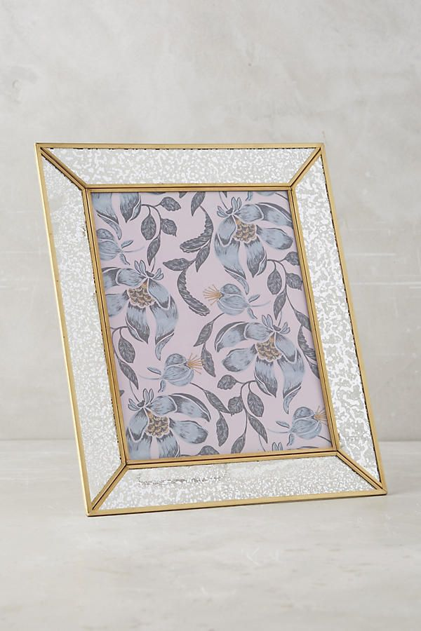 Mercury Glass Frame | Mercury glass and Room