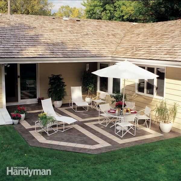 Patio Tiles How To Build A With Ceramic Tile