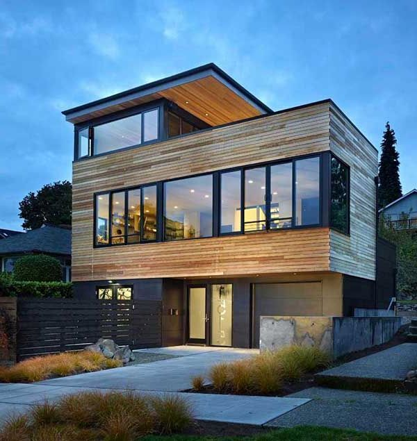 Fachadas Para Casas De Tres Pisos Modernas 48 Imágenes Ideas Y Diseños Información Imágenes Fachadas De Casas Modernas Casas Modulares Casas