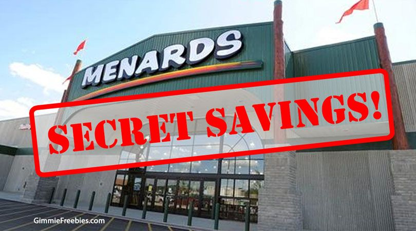 Menards Rebates Secret 11 Price