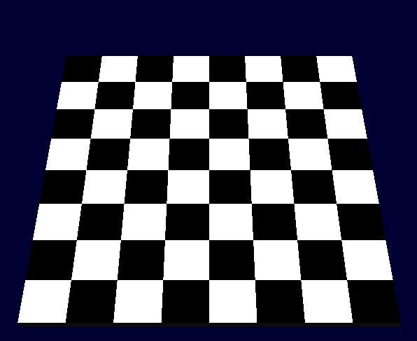 OpenGL Projects: Chess Board in OpenGL Computer graphics - Chess