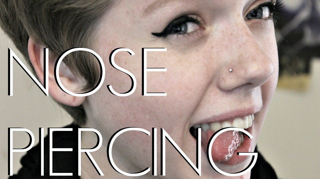 Piercing your nose  All About My Nose Piercing My Experience  Tips good to watch if