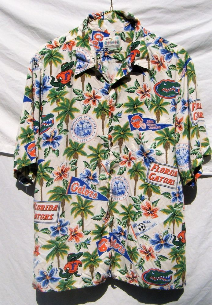 741da478 Reyn Spooner University of Florida Gators Championship Hawaiian Tropical  Shirt #ReynSpooner #Hawaiian