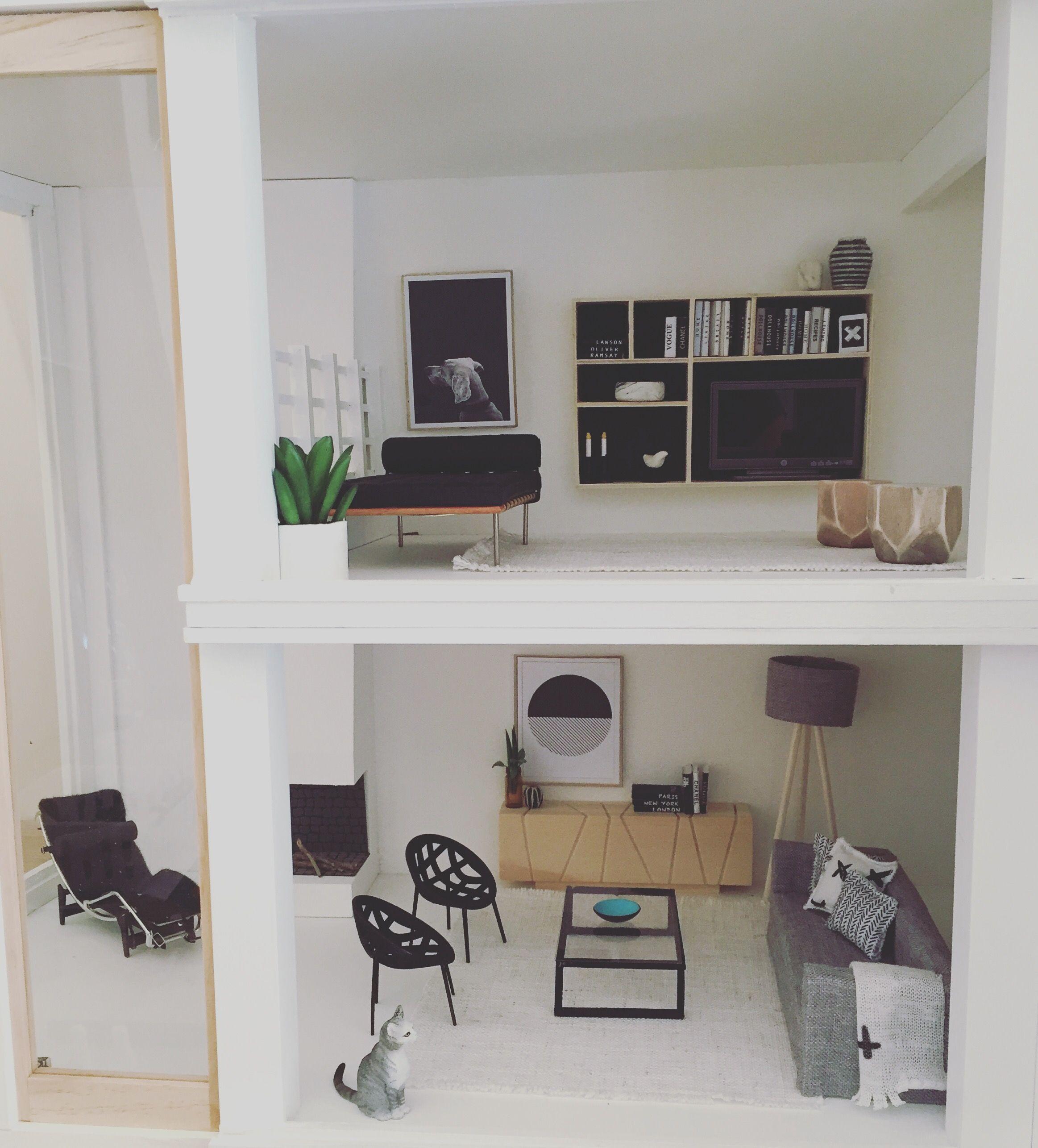 modern dolls house furniture. modern dollhouse by the emporium malibu kit 112 scale miniatures follow dolls house furniture