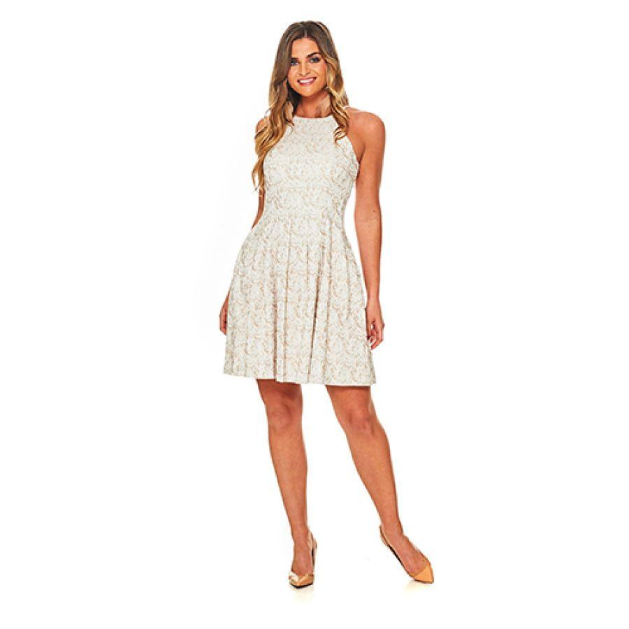 Boscov's White Lace Short Dress