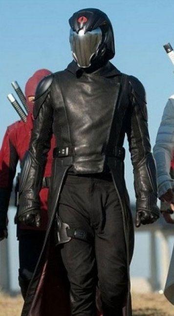 G I Joe Retaliation Cobra Commander Costume Coat Cobra Commander Gi Joe Leather Coat