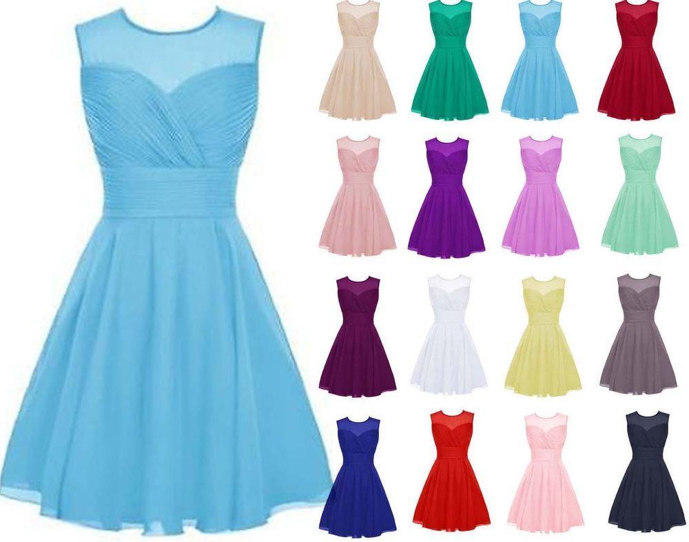 Ebay vestidos de fiesta cortos baratos