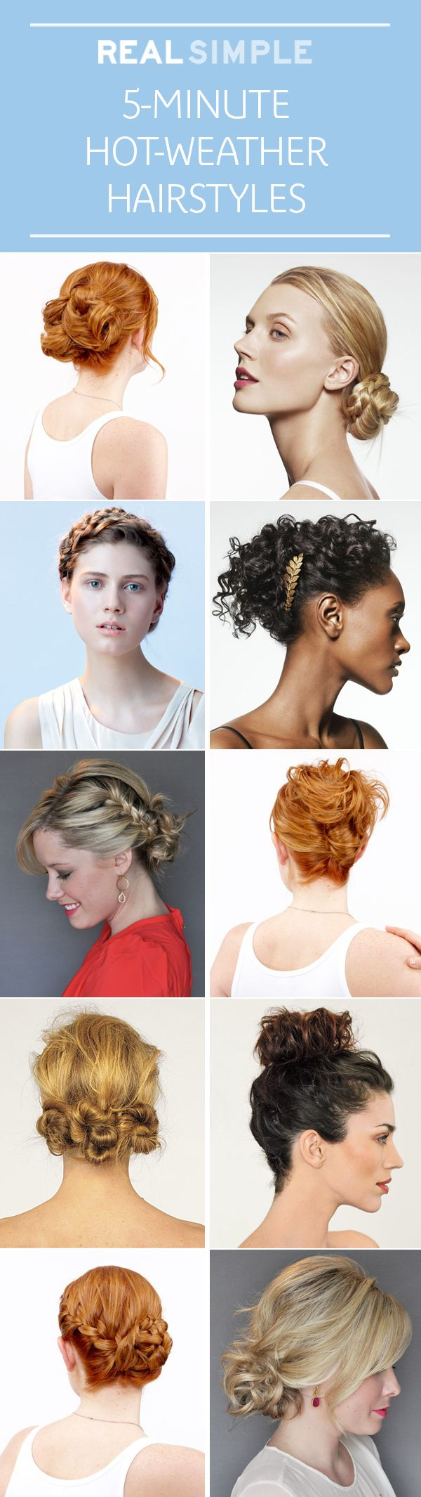 5 Minute Hot Weather Hairstyles Seriously Hair Updos