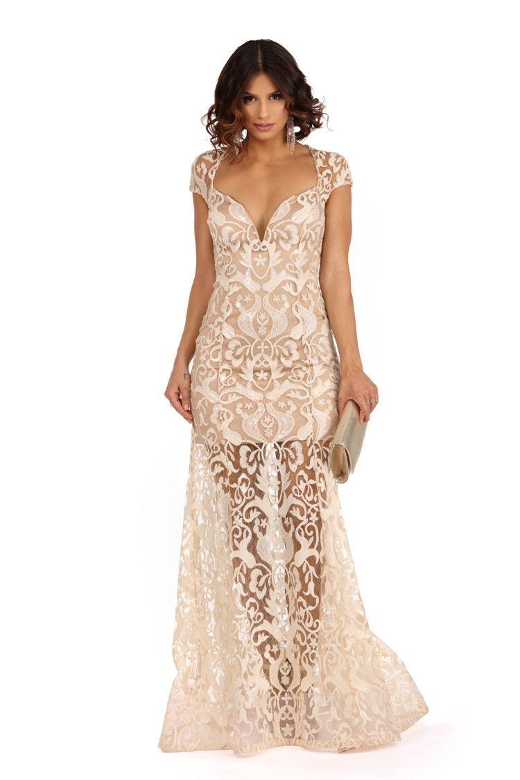 Ariel- Sequin Long Dress | WindsorCloud