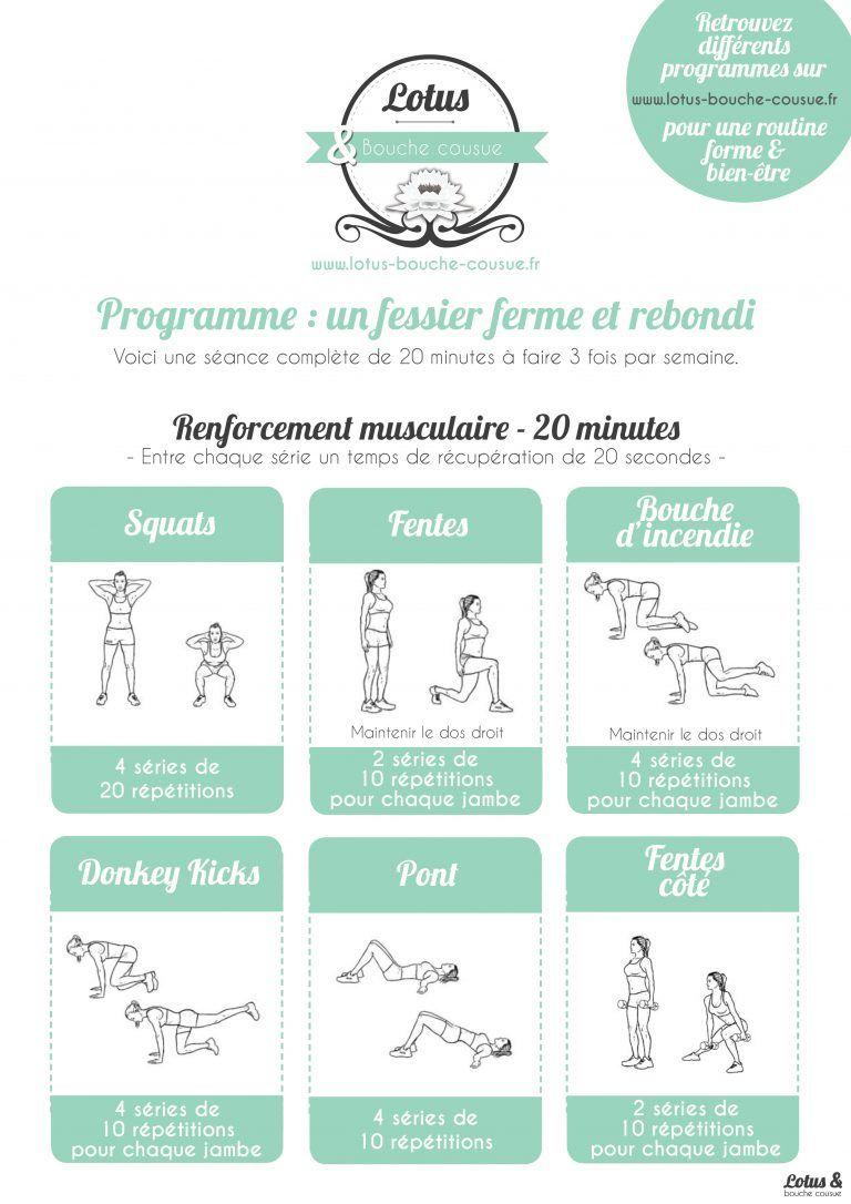 Programme exercice fessier 4aa9d164493