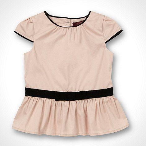 Baker by Ted Baker Girl's pink peplum top- at Debenhams.com