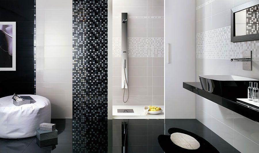 Bagni con piastrelle a mosaico bagni di design pinterest - Bagni piastrelle mosaico ...