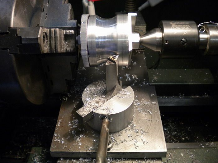 Modification of Steve Bedair's design for a ball cutter enables making concave cuts. Shop Made Tools - Page 183