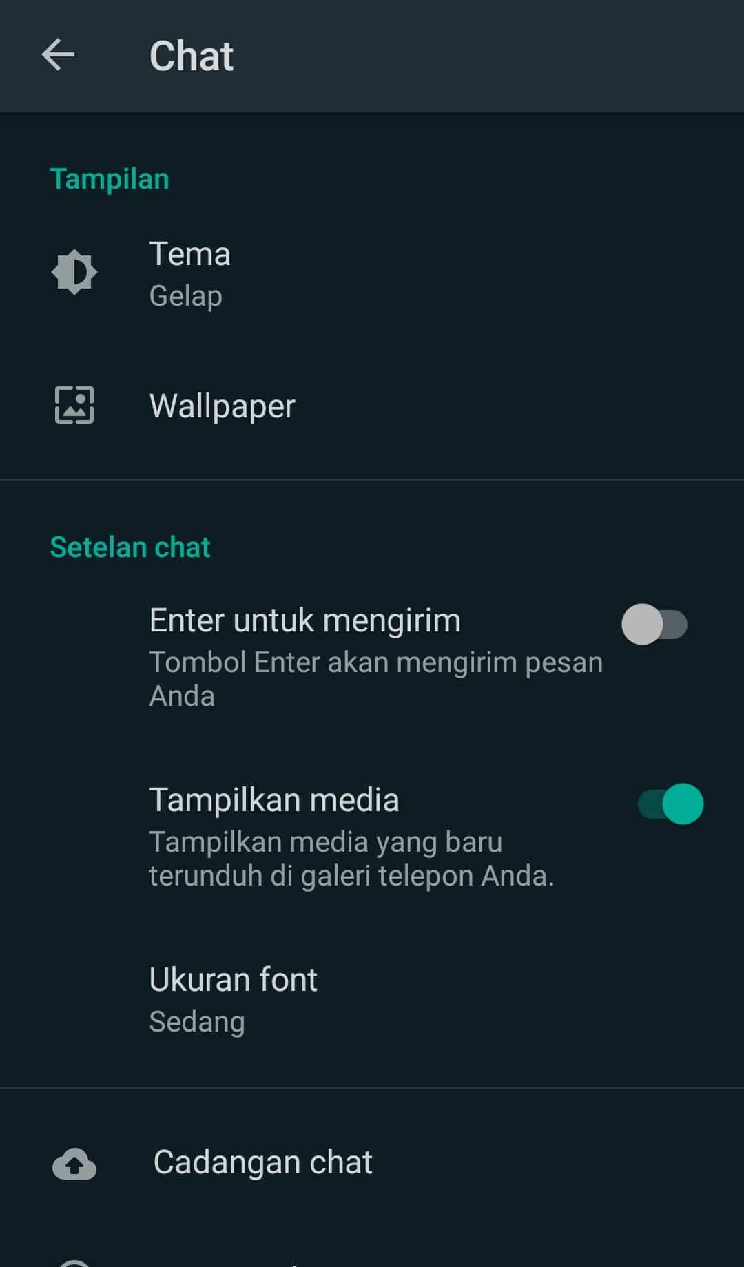Cara Mengaktifkan Dark Mode Di Whatsapp Iphone Terbaru Iphone Aplikasi Android