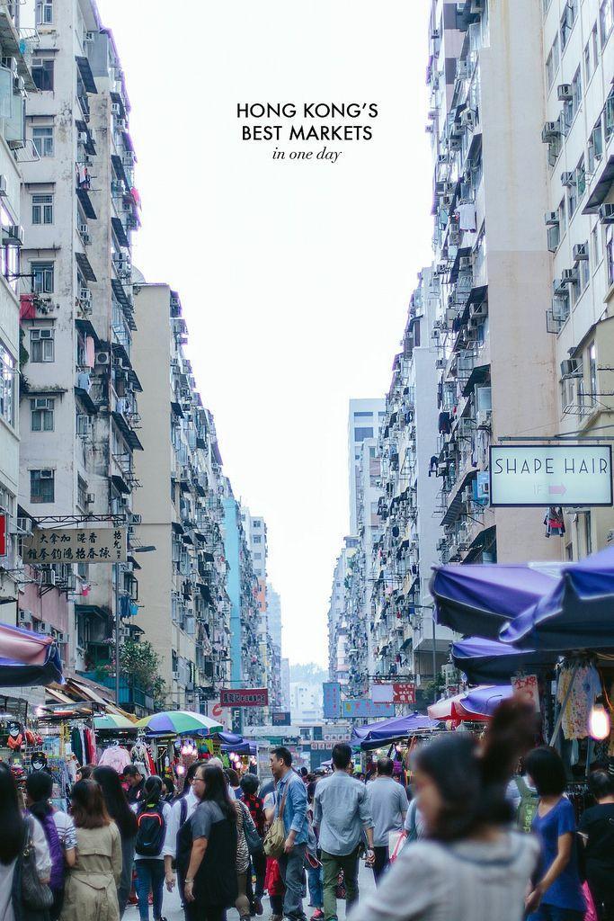 TRAVEL: HONG KONG'S BEST MARKETS (a pair & a spare)   Hong