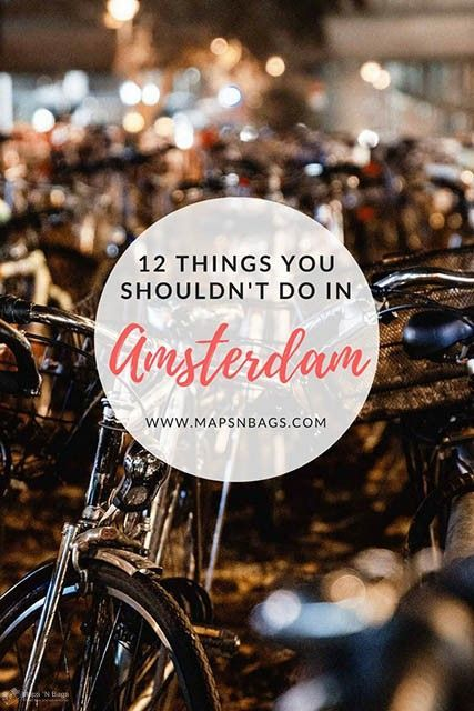 12 things you shouldnt do in amsterdam solutioingenieria Images