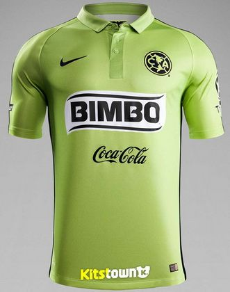 2fea2f39c 2015-2016 Club America Gree Soccer Jersey - AAA Thailand Quality 01 ...