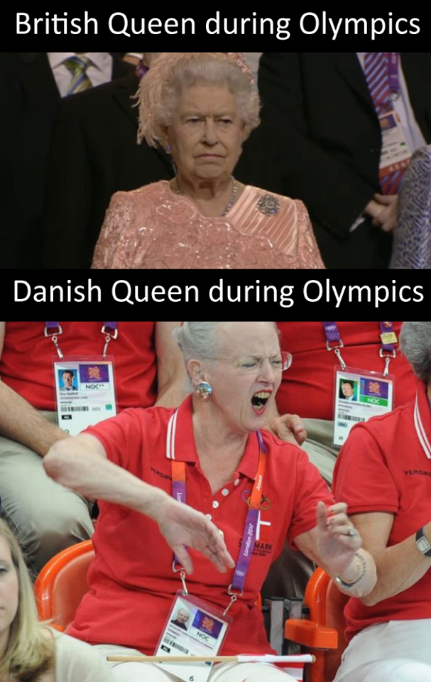 Danish Queen Vs British Queen Really Funny Stupid Funny Memes Stupid Funny