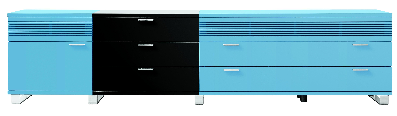 passt perfekt zu einem esszimmer in blautönen: sideboard artist, Esszimmer dekoo