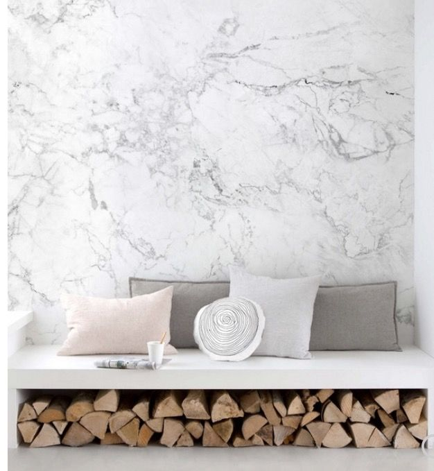 White Marble Wallpaper Contemporary Wallpaper Wallpaper Ideas Faux Marble Wallpaper Wallp Wallpaper Living Room Wall Art Wallpaper Faux Stone Wallpaper