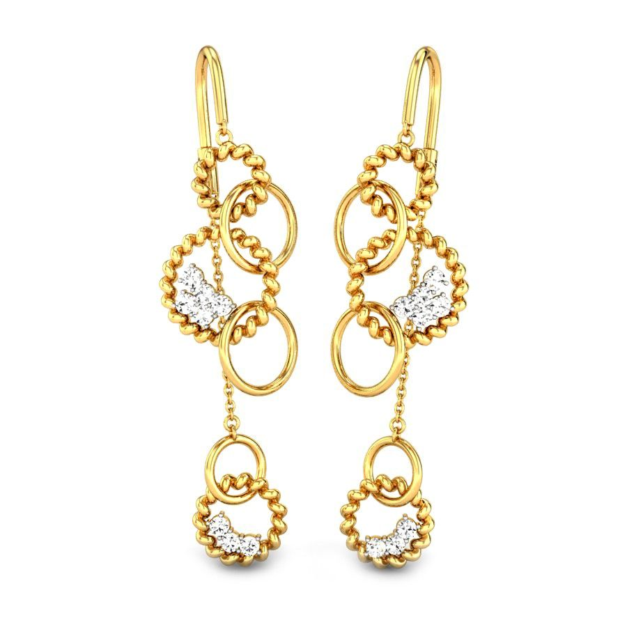 ef71a228b WIND CHIMES SUI DHAGA. WIND CHIMES SUI DHAGA Diamond Earrings For Women,  Gold Diamond Rings, Gold Rings Online