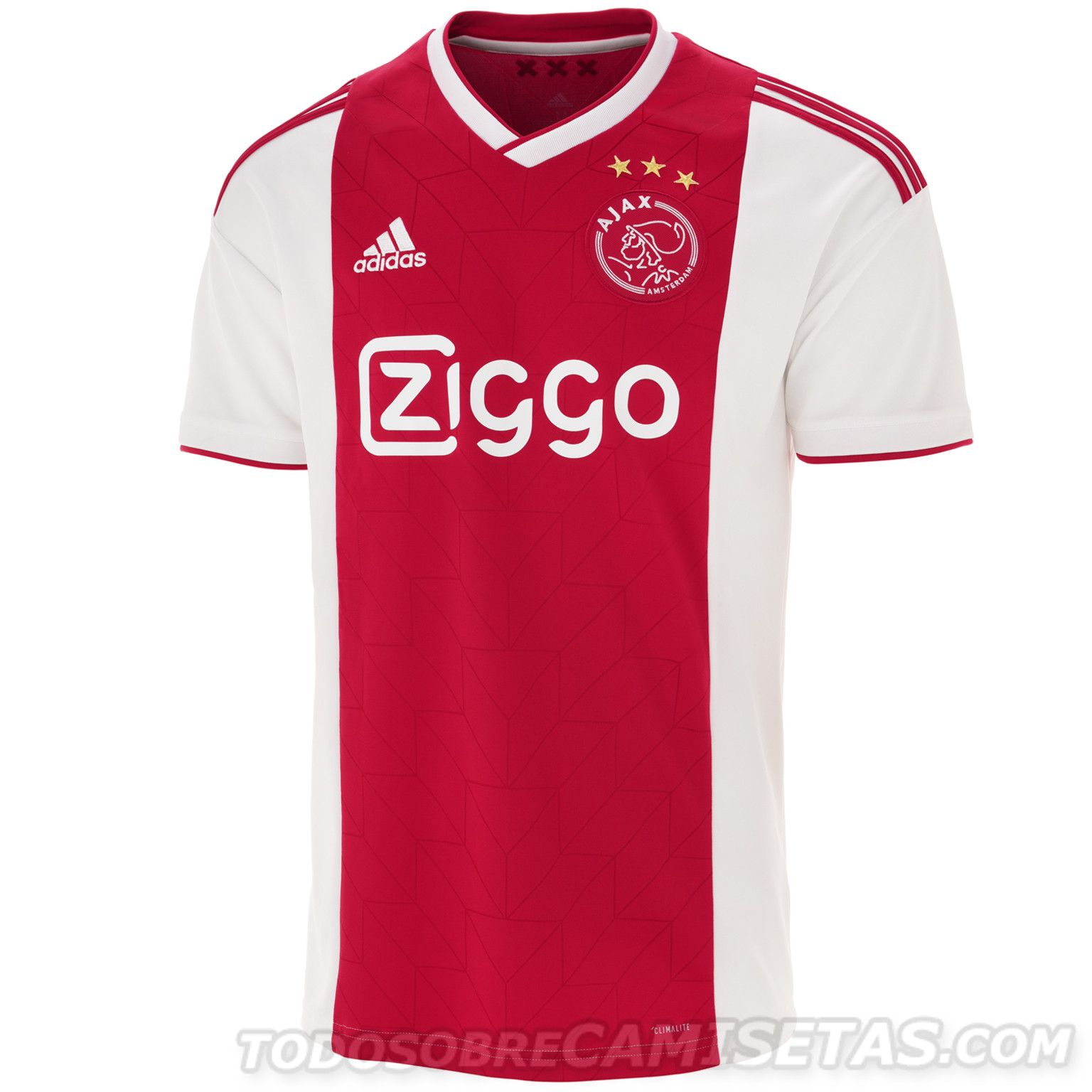 abc2e6d9acb Ajax 2018-19 adidas Home Kit