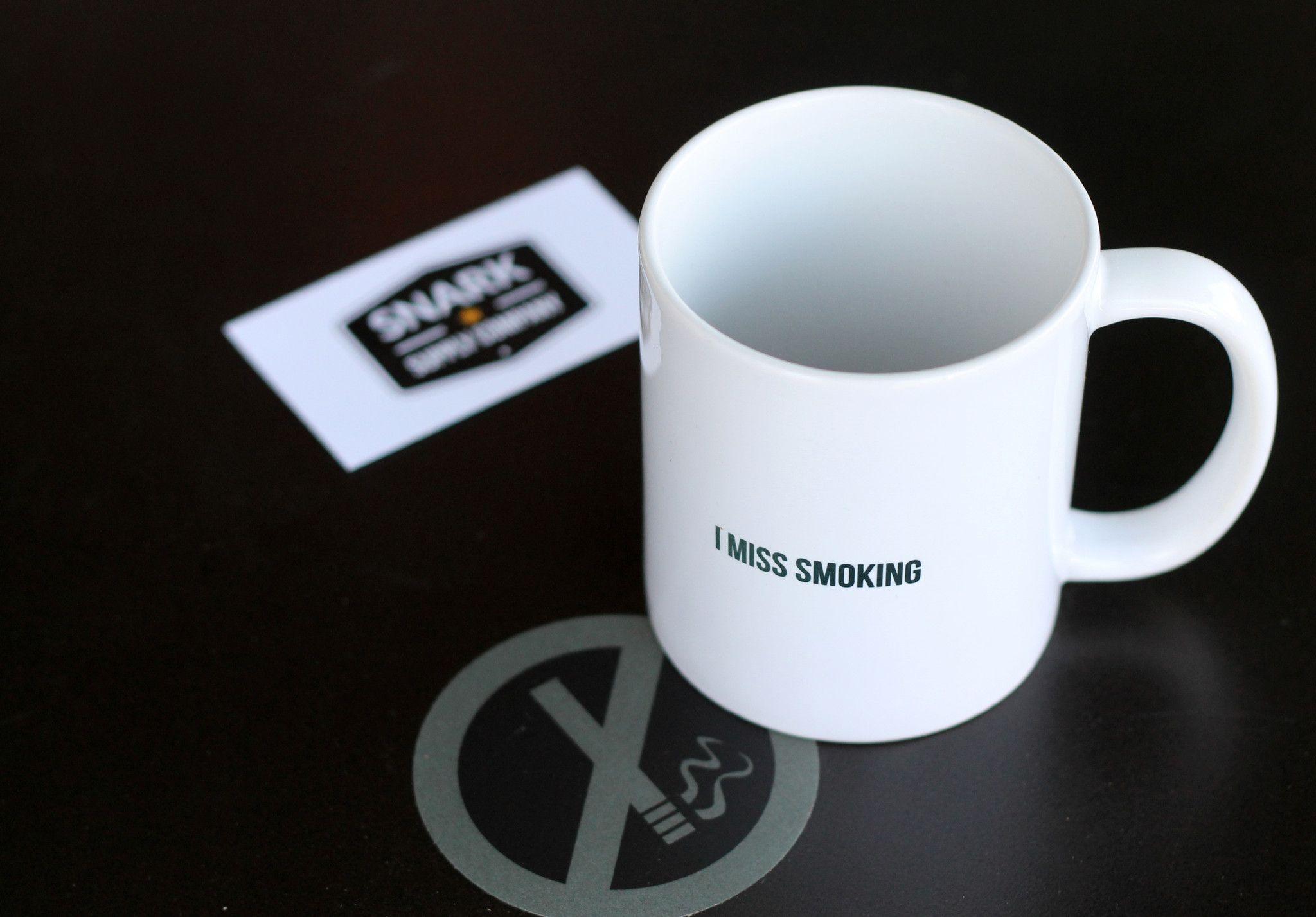 I Miss Smoking - Mug Shot – Snark Supply Co.