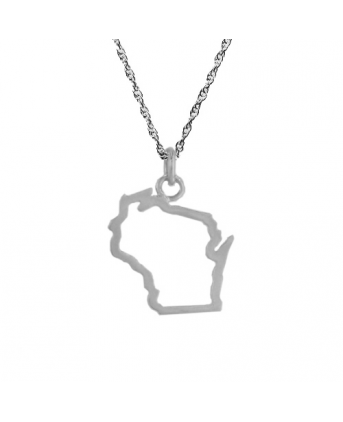 i have this necklace, i love wearing it - Wisconsin Love <3