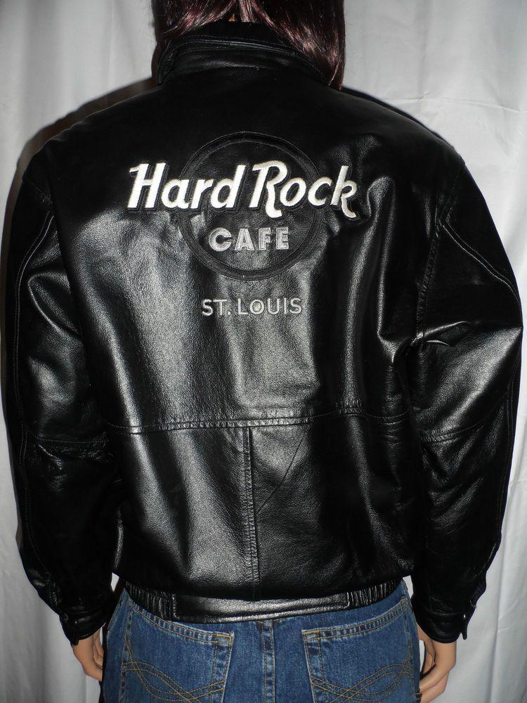 Hard Rock Cafe Leather Jacket London