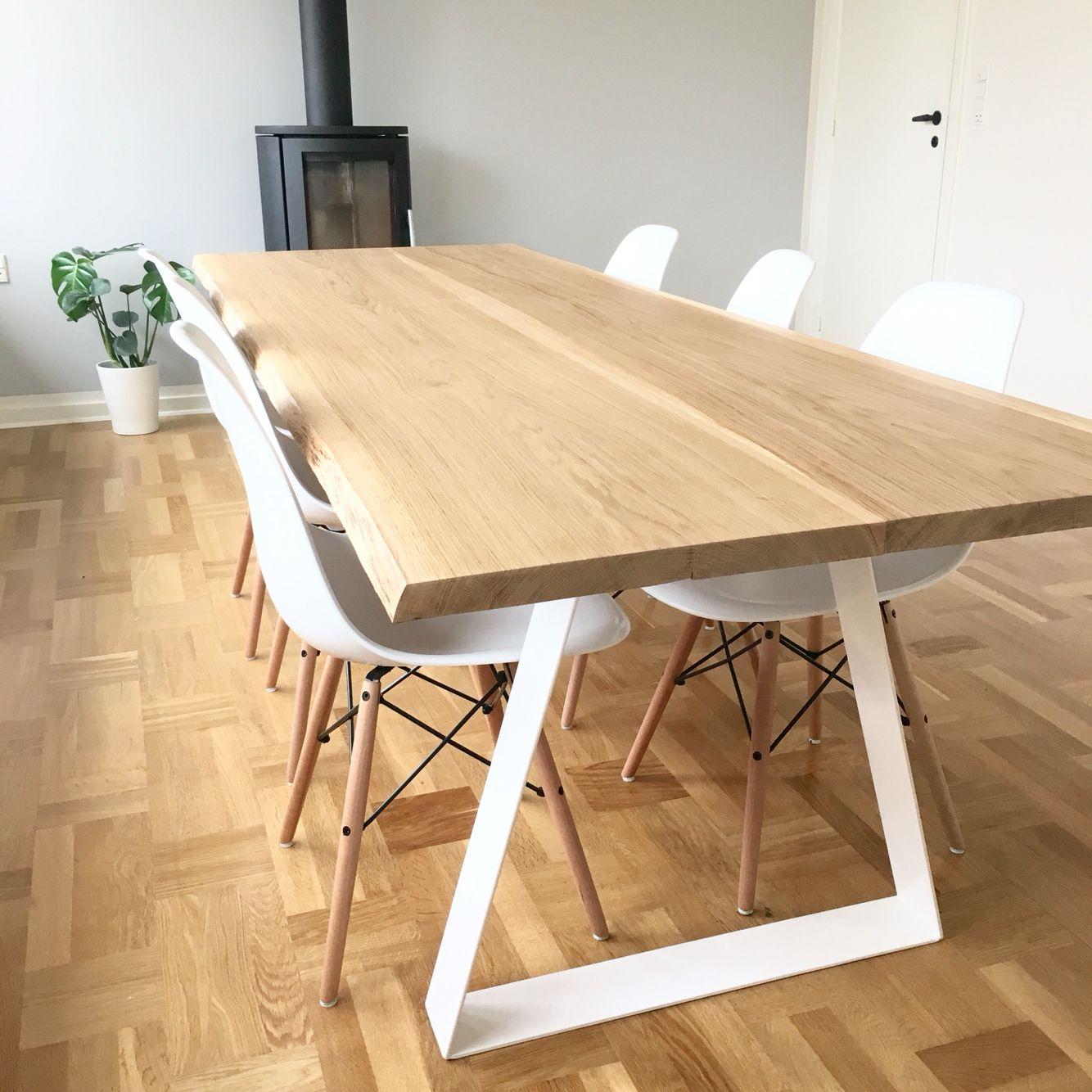 hvidt plankebord