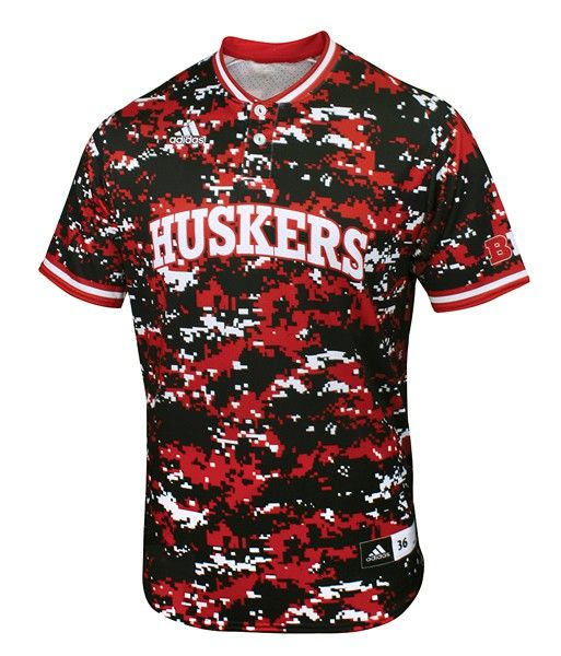size 40 391bf ffef5 2015 Camo Nebraska Authentic Baseball Jersey | HHQ Men's ...