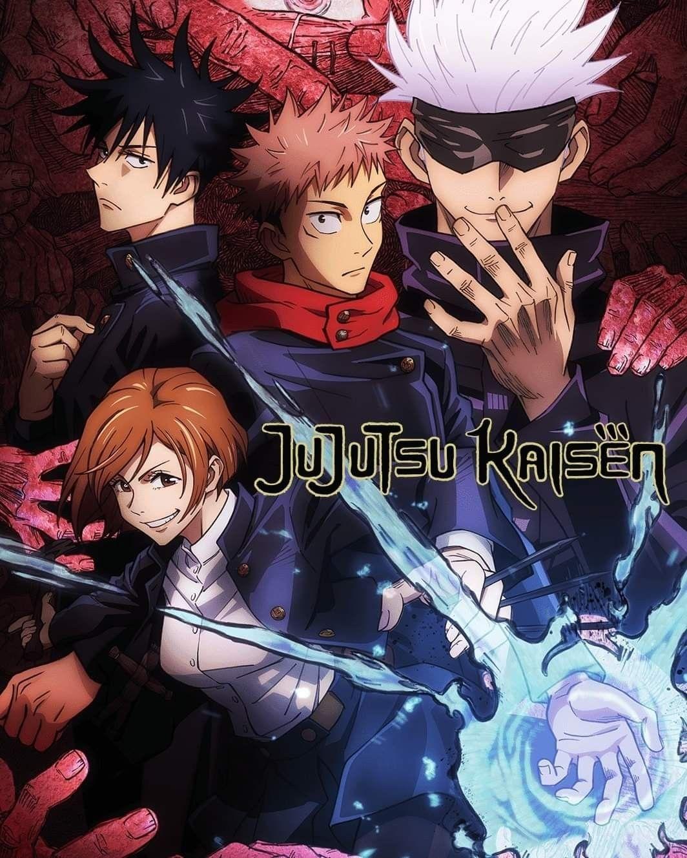 Jujutsu Kaisen Hd Poster Anime Wall Art Anime Poster Prints