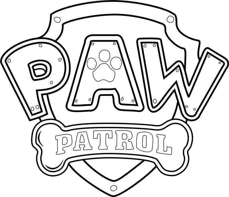 Paw Patrol Logo Png 800 688 Paw Patrol Badge Paw Patrol Coloring Paw Patrol Coloring Pages