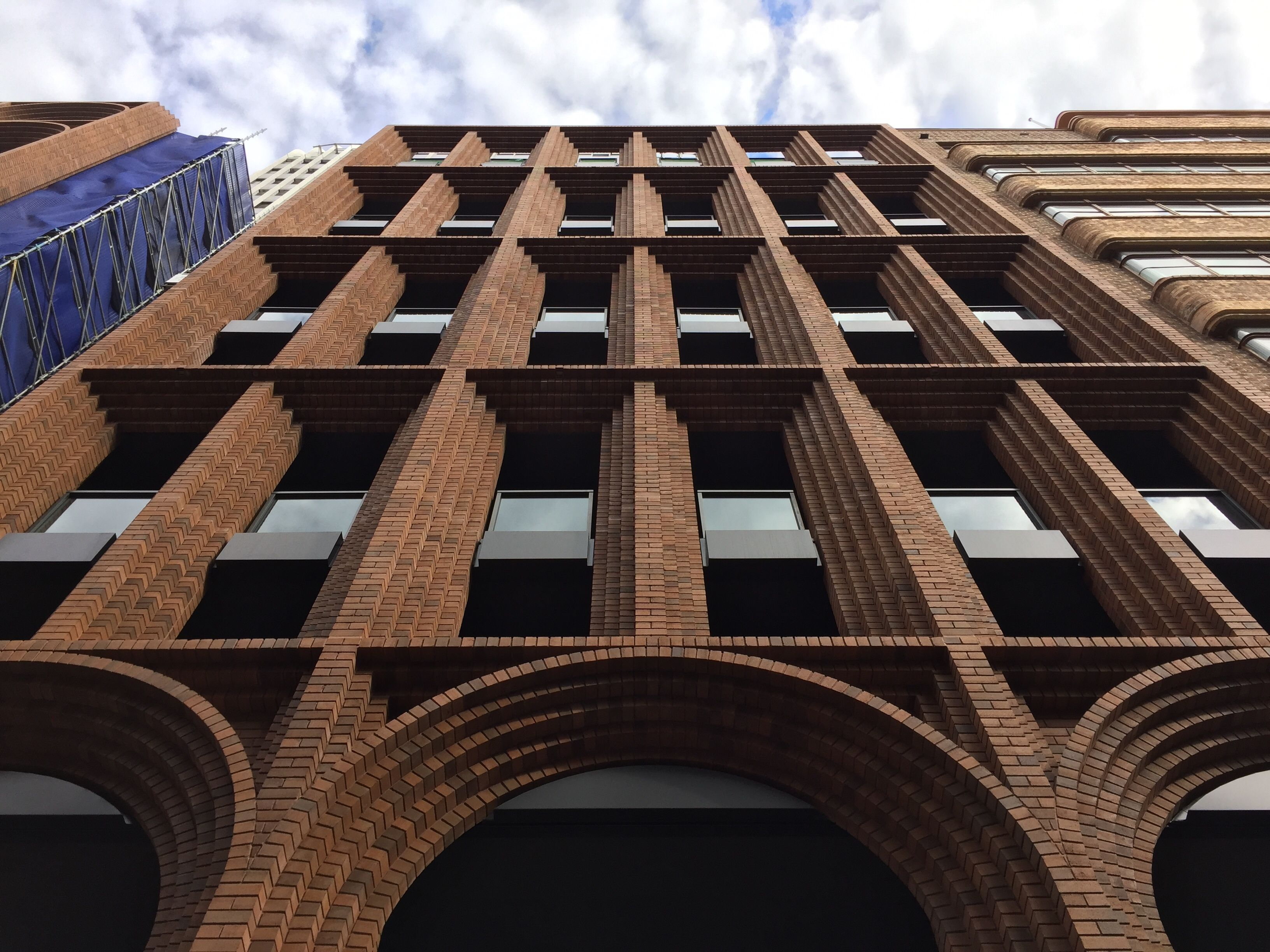 Arc Apartments  Facade facing Clarence St, Sydney  Koichi