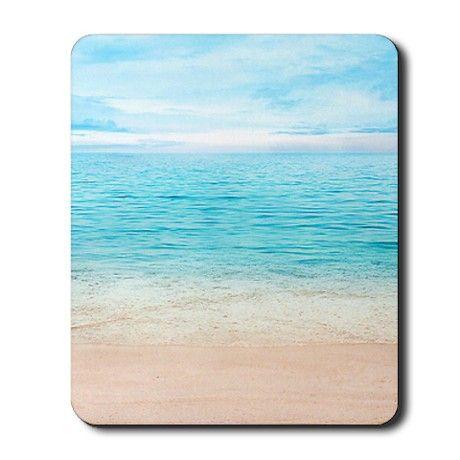 Beautiful Beach Mousepad on CafePress.com