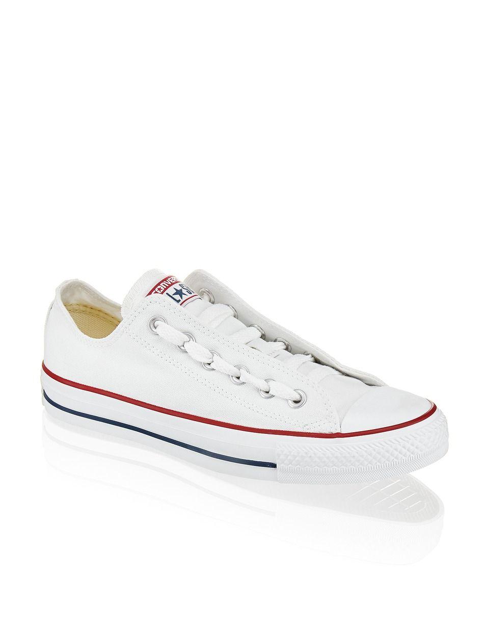 HUMANIC - White Converse Chuck Taylor - http://bit.ly/1qJd3UR