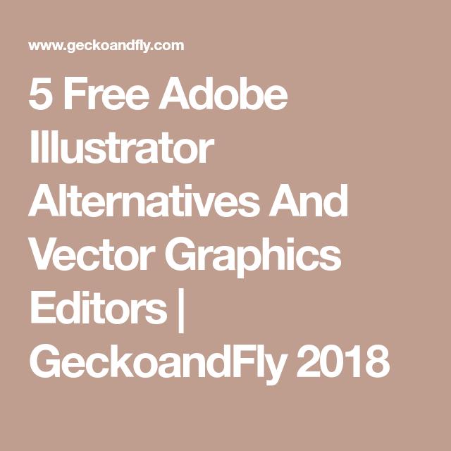 Adobe illustrator alternative free