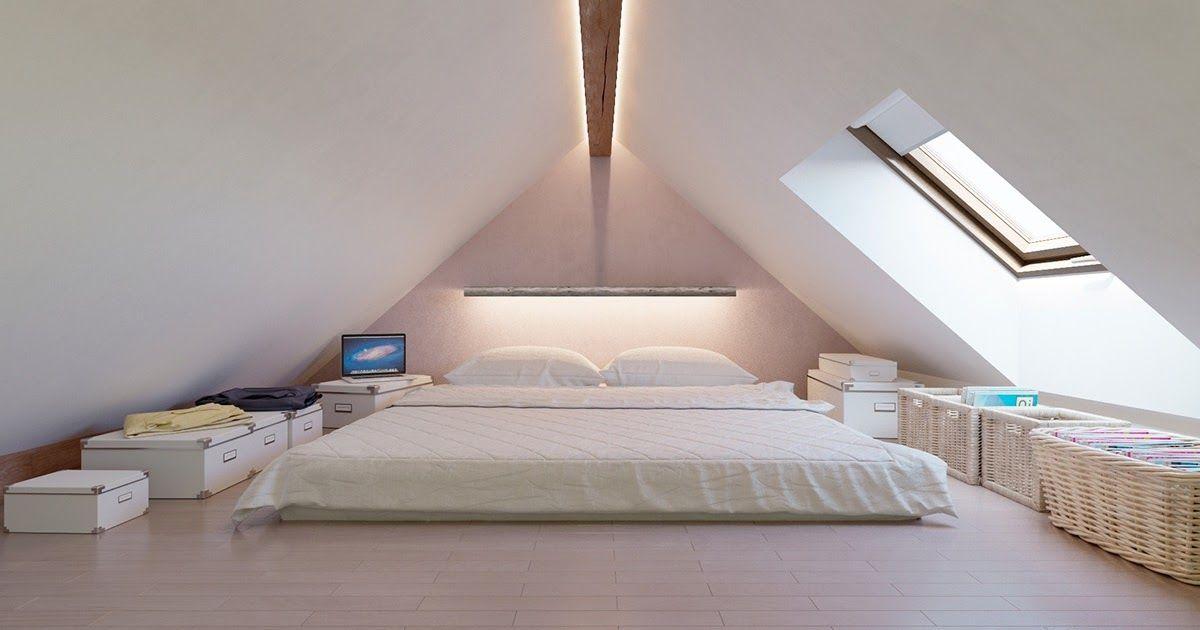 Low Ceiling Attic Bedroom Ideas Tumblr In 2020 Attic Bedroom