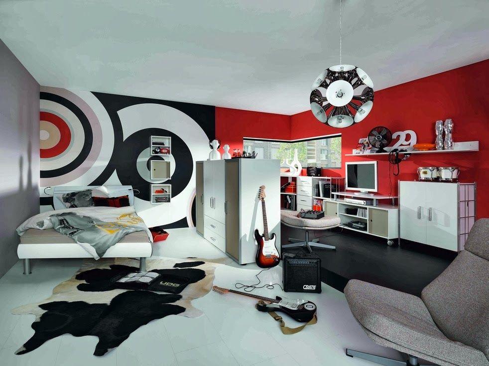 Diseños de dormitorios para adolescentes modernos   Dormitorio ...