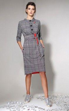 06b08095b63 Белорусские трикотажные платья больших размеров