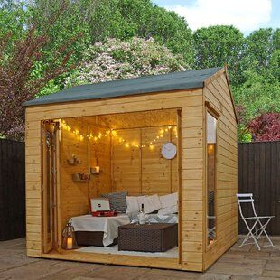 Tiger Sheds Zeta 14 x 14 Ft. Tongue and Groove Log Cabin