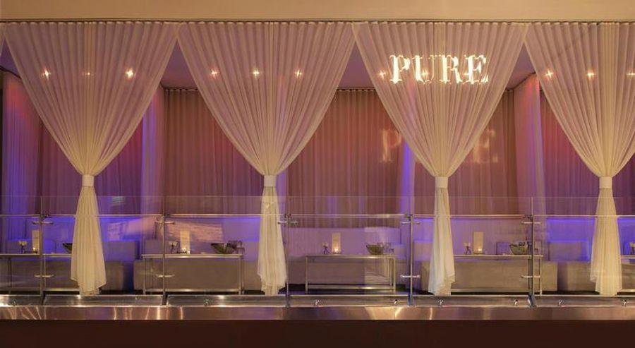 las vegas club decor design of pure nightclub las vegas stage products