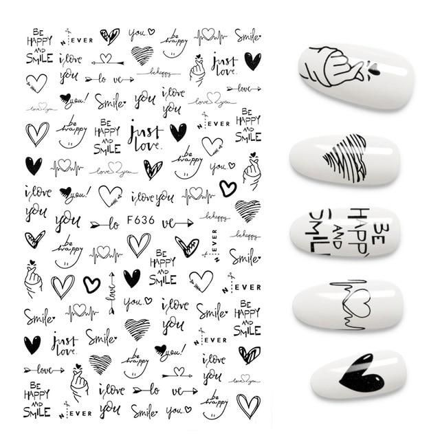 Brand Name: EZOPNumber of Pieces: One UnitOrigin: CN(Origin)Size: 12.3*7.6CMModel Number: MJZH002Item Type: Sticker & DecalMaterial: Nail stickerQuantity: 1PCSStyle: Sticker & Decal