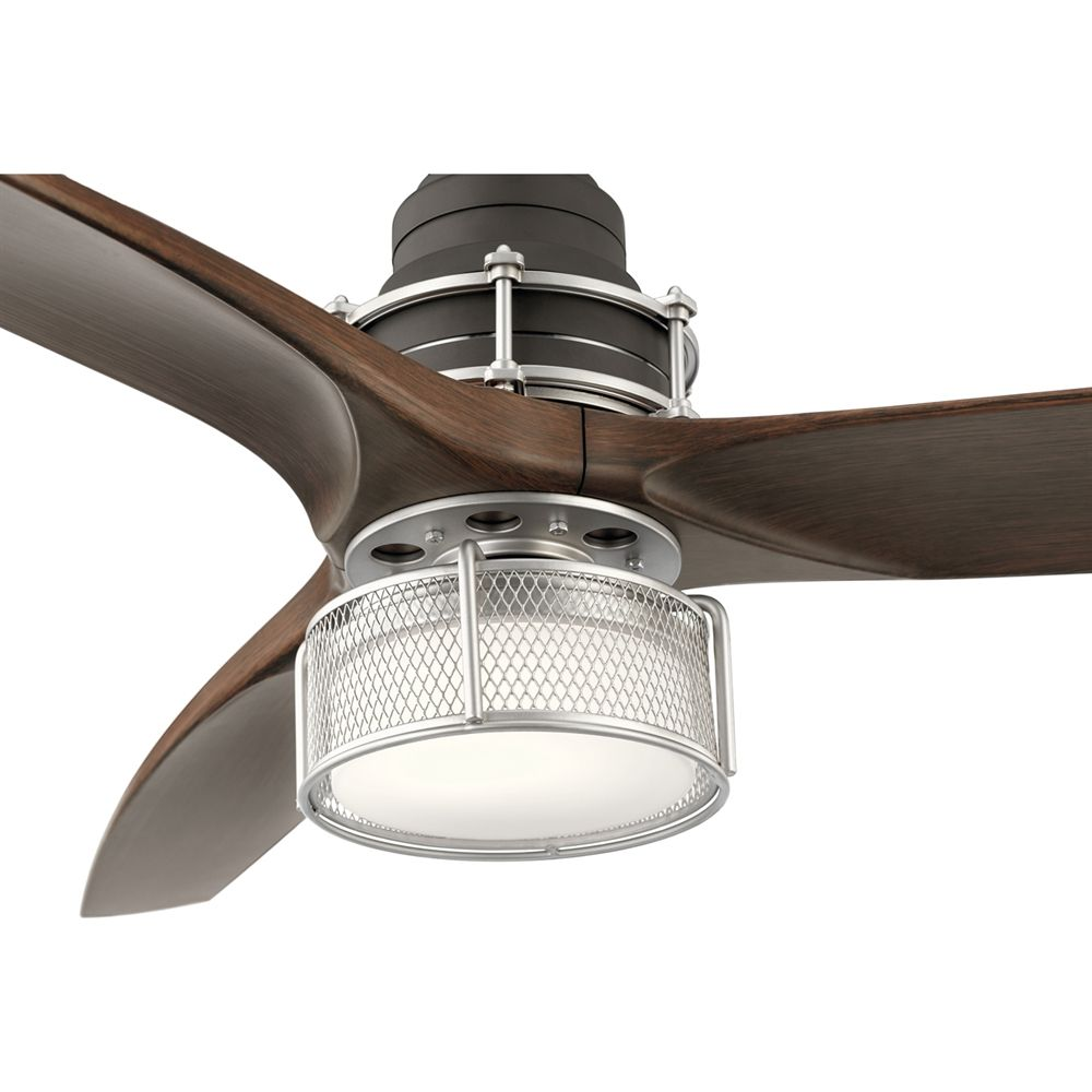 Shop Kichler Exclusives 35157 3 Blade 54 In Led Ceiling Fan At