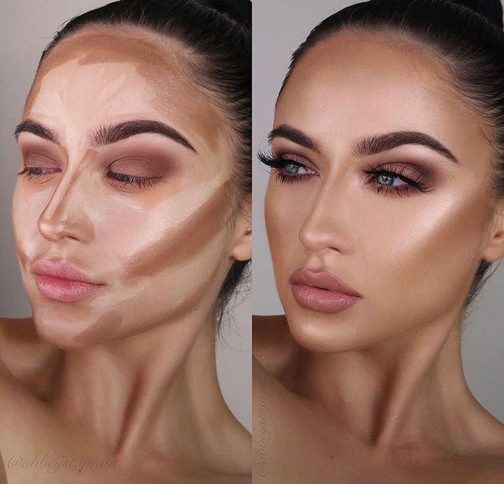 Eigentlich so verliebt in die @sosu_bysuzannejackson Cremekontursticks! Es gibt einen Farbton, um die Haut zu wärmen, Schatten auf die Haut zu legen und #makeuptips